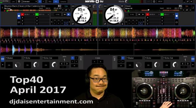 Top40 Music April 2017 Live DJ Mix Video